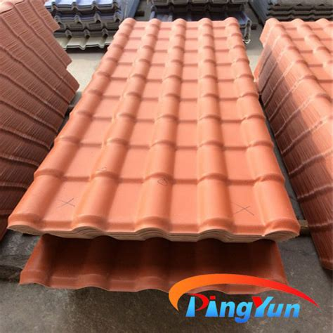 tile pattern roofing sheets hot sale roof tile accessories asa pvc roofing tile
