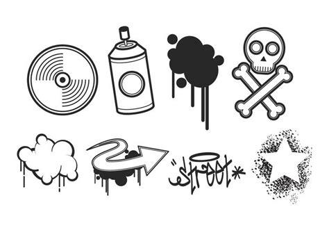 graffiti vector pack  kostenlos vector