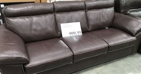 costco leather couch natuzzi group leather sofa costco weekender