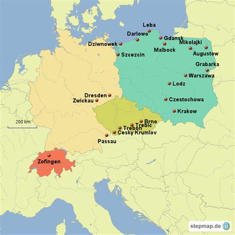 karte deutschland tschechien schweiz tschechien polen deutschland andi s
