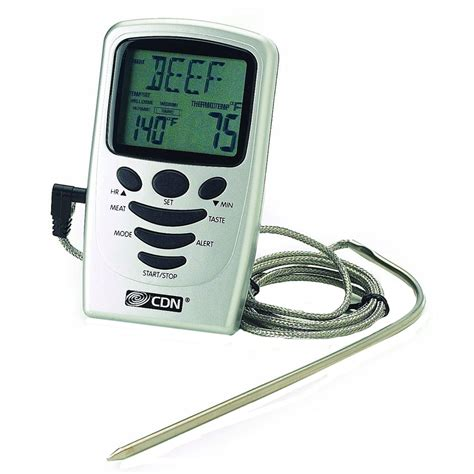 Termometer Sensor digital probe thermometer with timer in cooking thermometers