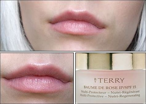 by terry by by terry baume de rose ipspf 15 lips care 7g023oz review du baume de rose by terry inhuman