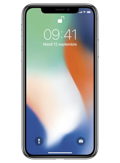 mobile x apple iphone x sfr