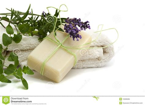 Handmade Herbal Soaps - handmade herbal soap royalty free stock photo image