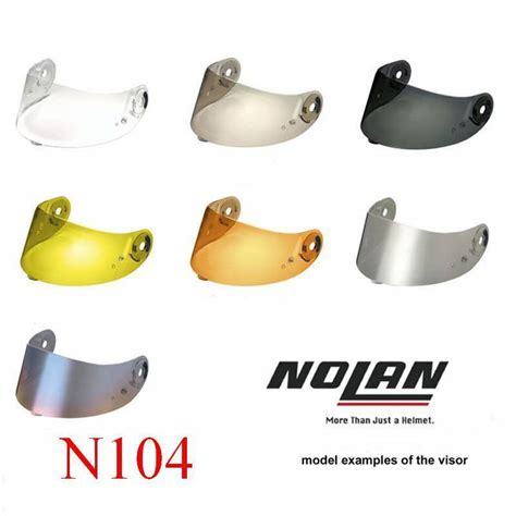 Visor Iridium Nolan N87 motorcycle accessories supermarket nolan n104 sr clear visor