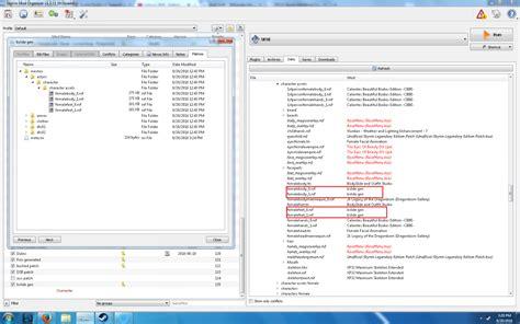 mod organizer technical support loverslab help bodyslide cbbe racemenu morphs with mod organizer