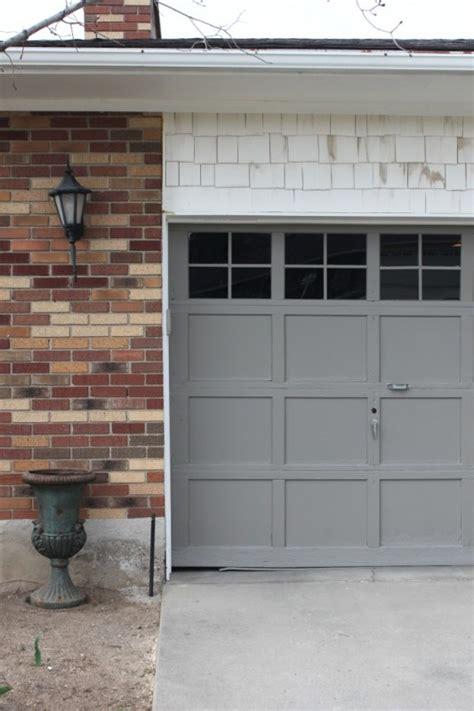 Adding Windows To Garage Door Diy - remodelaholic 8 diy garage door updates