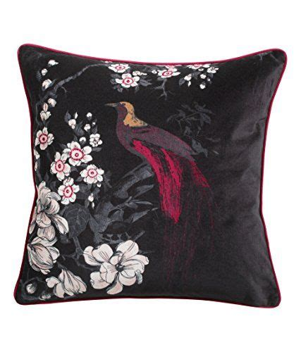 Japanese Pillow Talk by Japanese Style Cherry Blossom Floral Bird Print