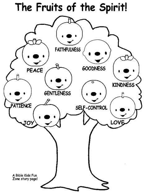 bible verse fruit of the tree fruit of the spirit tree bible stories crafts