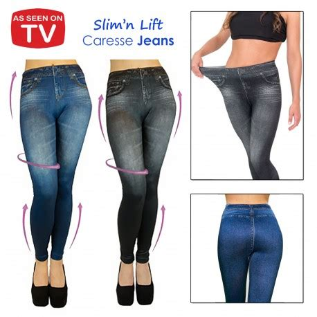 Zwilling Kitchen Knives by Slim N Lift Caresse Jeans Skinny Jeggings As Seen On Tv