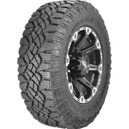 goodyear wrangler duratrac with outlined white quadratec