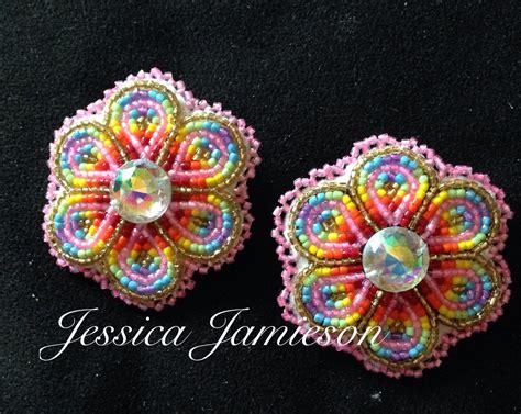 beadwork earrings beaded earrings beadwork by bead sewing