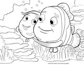 coloring pages for printable disney s finding nemo coloring pages sheet free disney