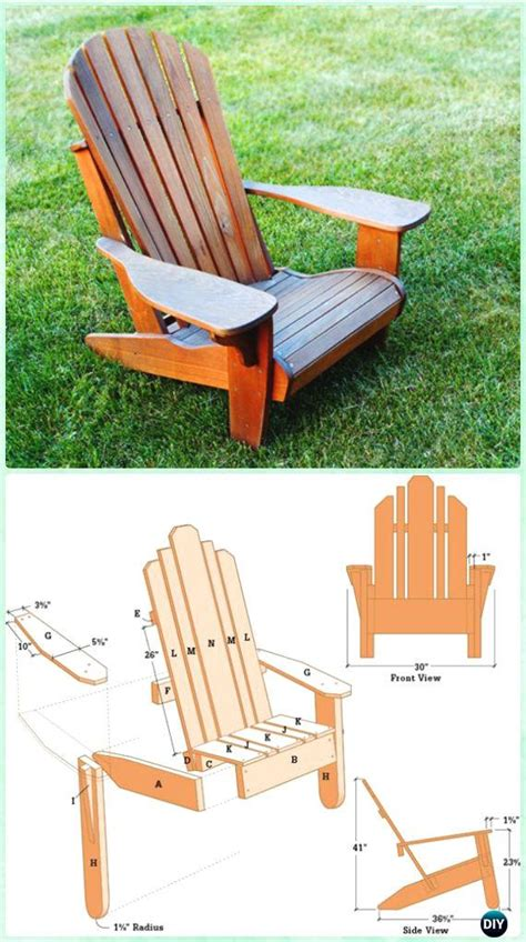 Adirondack Chairs Diy by Diy Adirondack Chair Free Plans