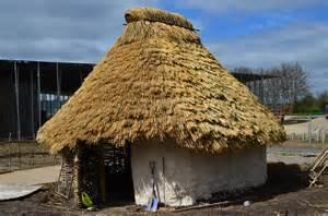 neolithic houses volunteers stonehenge neolithic houses