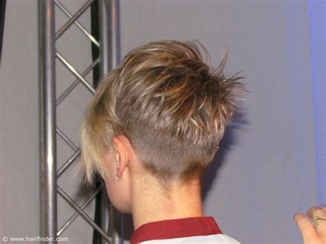 very short nape hairstlyes buzzed nape haircuts for women of a very short haircut