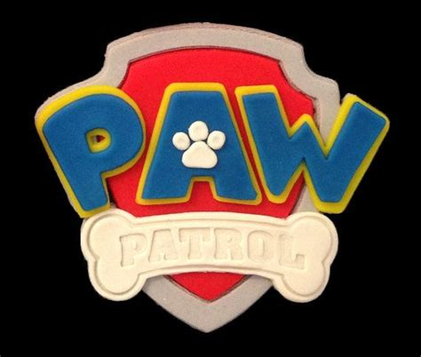 Paw Patrol Logo Cookie Cutter Set Cake Design Ideas Pinterest Logos The O Jays And Awesome Paw Patrol Logo Template