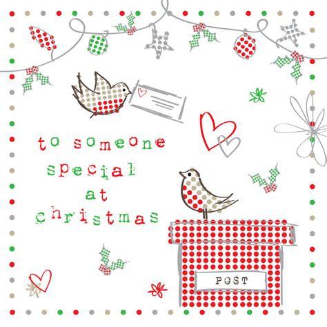 Christmas Gift Card Specials - someone special at christmas christmas card by megan claire notonthehighstreet com