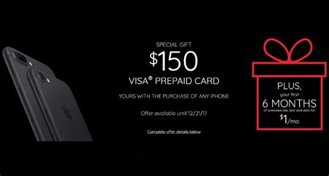 150 Dollar Visa Gift Card - virgin mobile giving away 150 visa prepaid card with purchase of an iphone plus 6