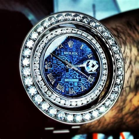 Rolex Skeleton Aoutomatic Chain blue rolex datajust amazing iced out rolex