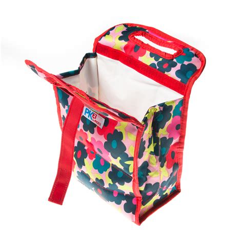 Lunch Bag Cooler Bag Free 2pcs Gel 2 packit pk2 freezable foldable 8 quot lunch bags gel lined