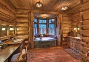 cabin master bathroom homes home decor