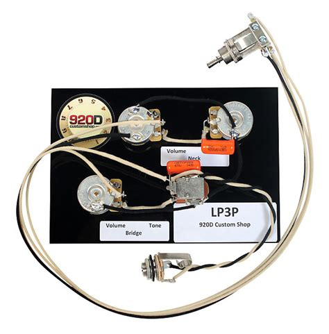 gibson les paul black 3 wiring harness