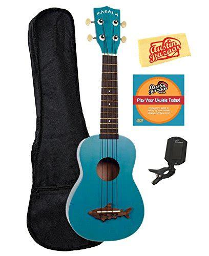 baby shark ukulele kala mk ss blu makala shark soprano ukulele mako blue