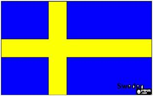 swedish flag colors sweden flag coloring page printable sweden flag
