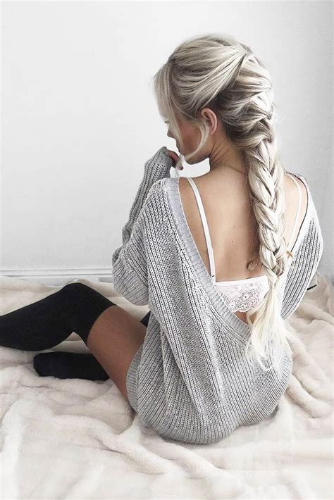 3 hairstyles to show off this season s statement earrings best hairstyles haircuts for women in 2017 2018 the