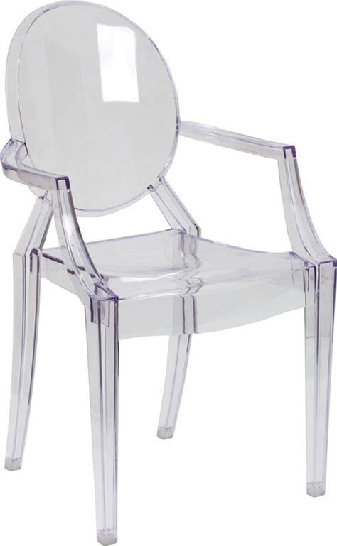 Ghost Armchair by Ghost Chairs