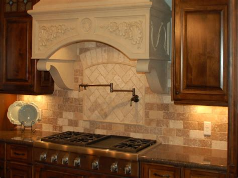 Kitchen Backsplash Patterns Ceramic Tiles For Kitchen Floors Tuscany Travertine Tile