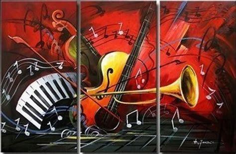 imagenes abstractas de instrumentos musicales cuadros modernos pinturas y dibujos cuadros con