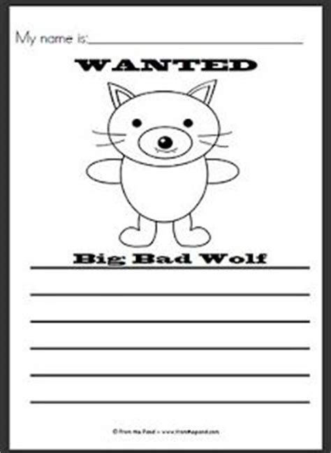 big bad wolf template big bad wolf bad wolf and wolves on
