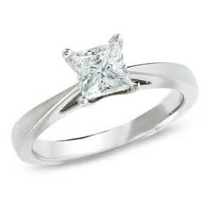 Celebration 102 174 1 ct princess cut diamond solitaire engagement ring