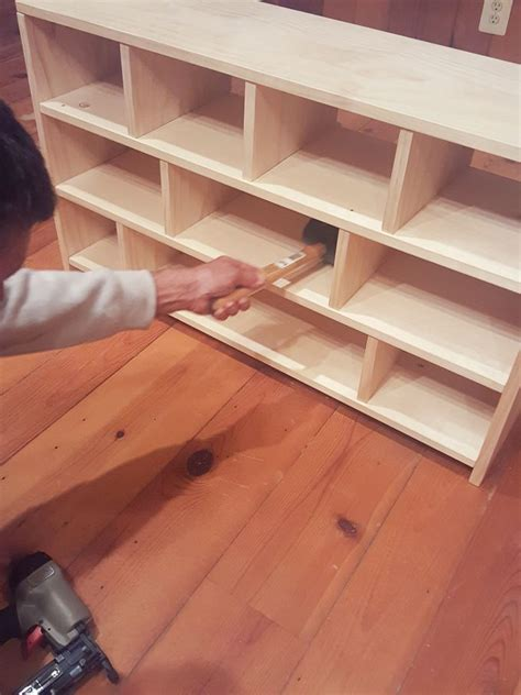 diy shoe cubby free plans to build a shoe cubby stuff to build