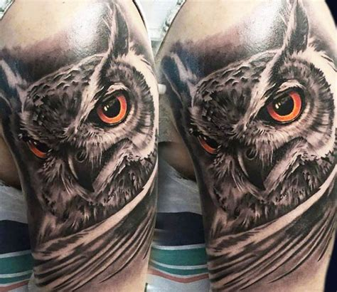 owl tattoo realism owl tattoo by mirel tattoo photo no 13898