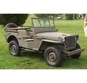 1942 Ford GPW1 Army Jeep