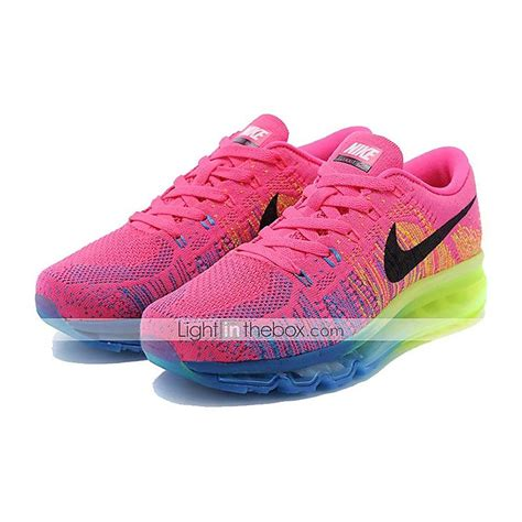 nike flyknit air max s running shoes light pink nike