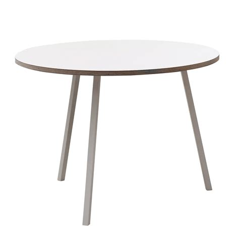 Weisser Tisch Rund by The Loop Stand Table By Hay In The Shop