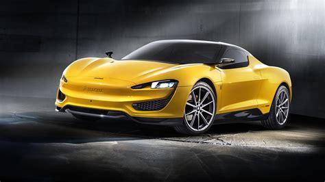 1600 x 900 car wallpapers 2015 magna steyr voiture jaune fonds d 233 cran 1600x900