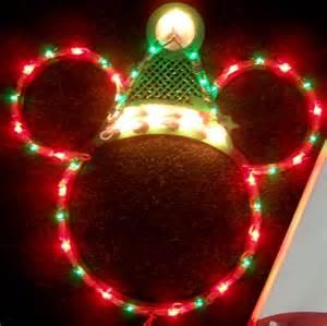 mickey lights disney santa mickey mouse ears lighted