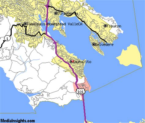 map of sausalito area sausalito vacation rentals hotels weather map and