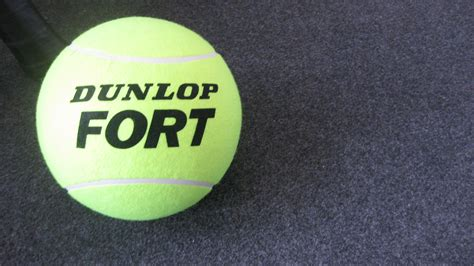 Bola Tennis Dunlop Fort la dunlop fort all court bola oficial itf 180 s 25