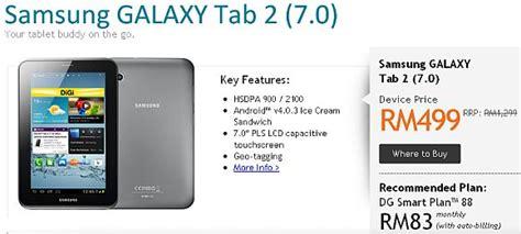Samsung Tab 4 In Malaysia digi offers samsung galaxy tab 2 from rm499 soyacincau