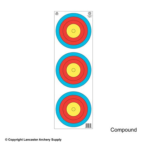 printable fita indoor targets maple leaf ta 3x40v 3 spot vertical world chionship