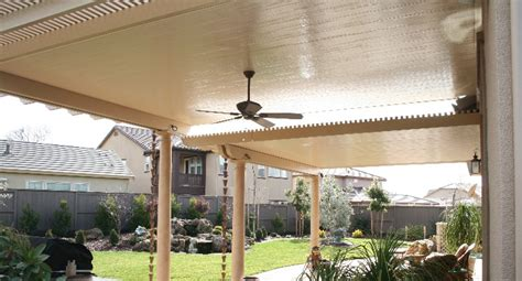 Solid Non Insulated Patio Cover (Standard)   Sacramento