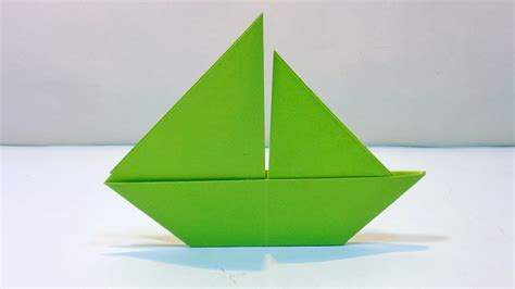 sailboat easy how to make 2d paper sailboat easy origami paper boat