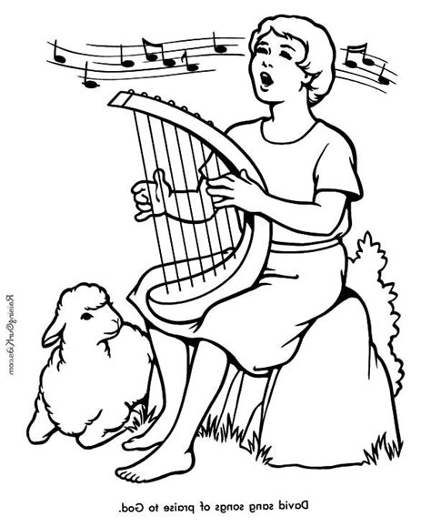 David The Shepherd Boy Coloring Pages Printable David The Shepherd Boy David The Shepherd Boy Sing A by David The Shepherd Boy Coloring Pages Printable