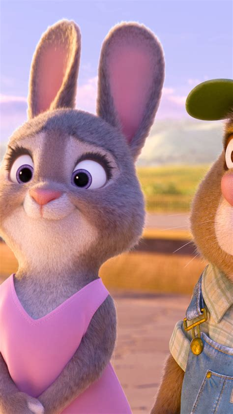 wallpaper zootopia rabbit  animation movies